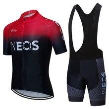 2021 rojo INEOS equipo de Ciclismo Jersey 20D bicicleta pantalones cortos traje de Ropa de los hombres de verano de secado rápido profesional bicicleta Maillot pantalones Ropa