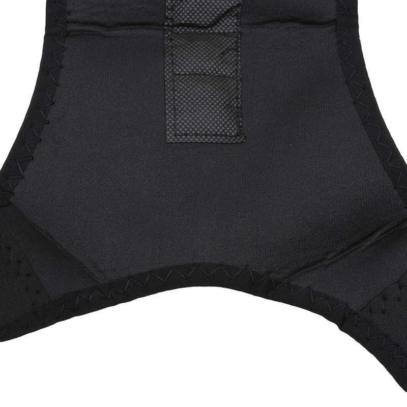 Spine Support Belt For Men Women Magnetic Posture Corrector Neoprene Back Corset Brace Straightener Shoulder Back Belt Black