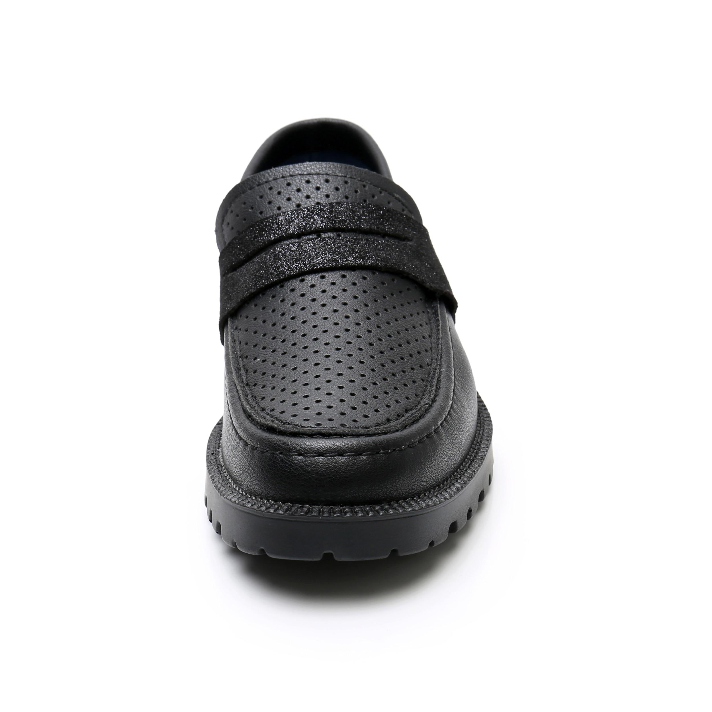 estudante crianças casuais anti-deslizamento nova escola uniforme sapatos