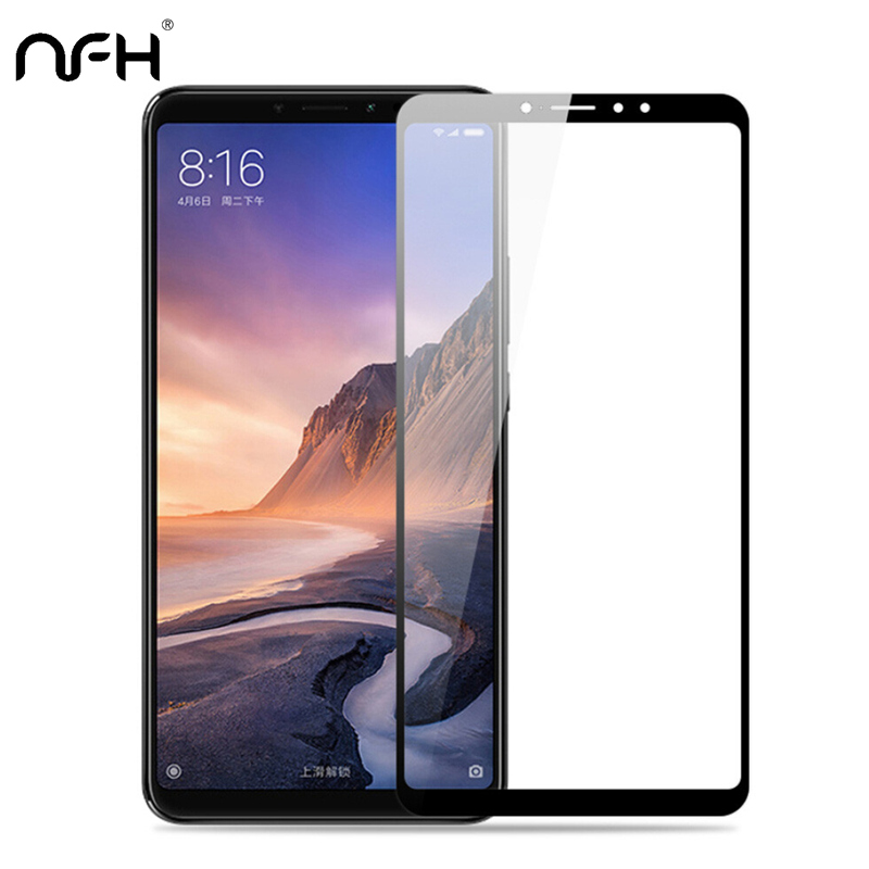 3pcs Full Cover Protection Glass For <font><b>Xiaomi</b></font> Max 2 <font><b>3</b></font> Mix 2 2S <font><b>Redmi</b></font> Note 4 <font><b>4X</b></font> 4A Screen Protector Tempered Glass On <font><b>Xiaomi</b></font> 5X 6X image
