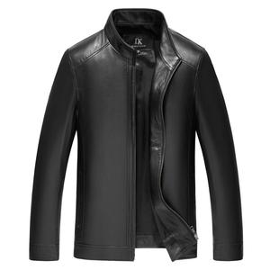 DIHOPE Winter Mens Genuine Leather Jackets Brand Real 100% Sheepskin Coat Jaqueta Couro Male Genuine Leather Jacket for Men