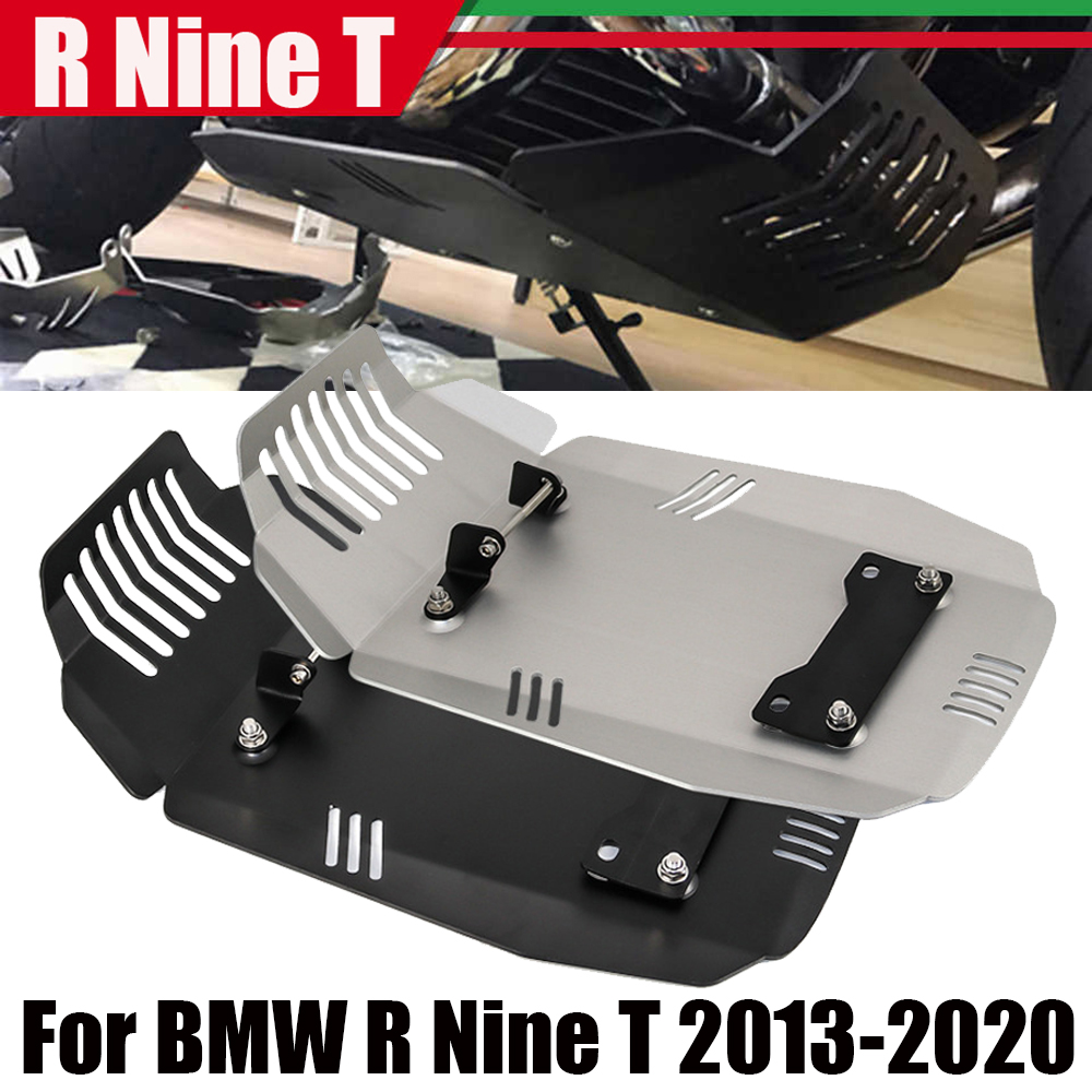 For BMW R Nine T Scrambler Pure Racer Urban R Nine T Motorcycle Engine Protection Cover Chassis Protector Under Guard Skid Plate