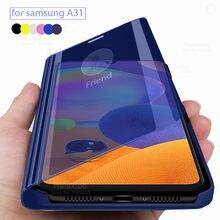 Samsun-funda con tapa para Samsung Galaxy a31, carcasa con espejo inteligente para Samsung galaxy a 31 31a, Samsung Galaxy a31 SM-A315F, 6,4