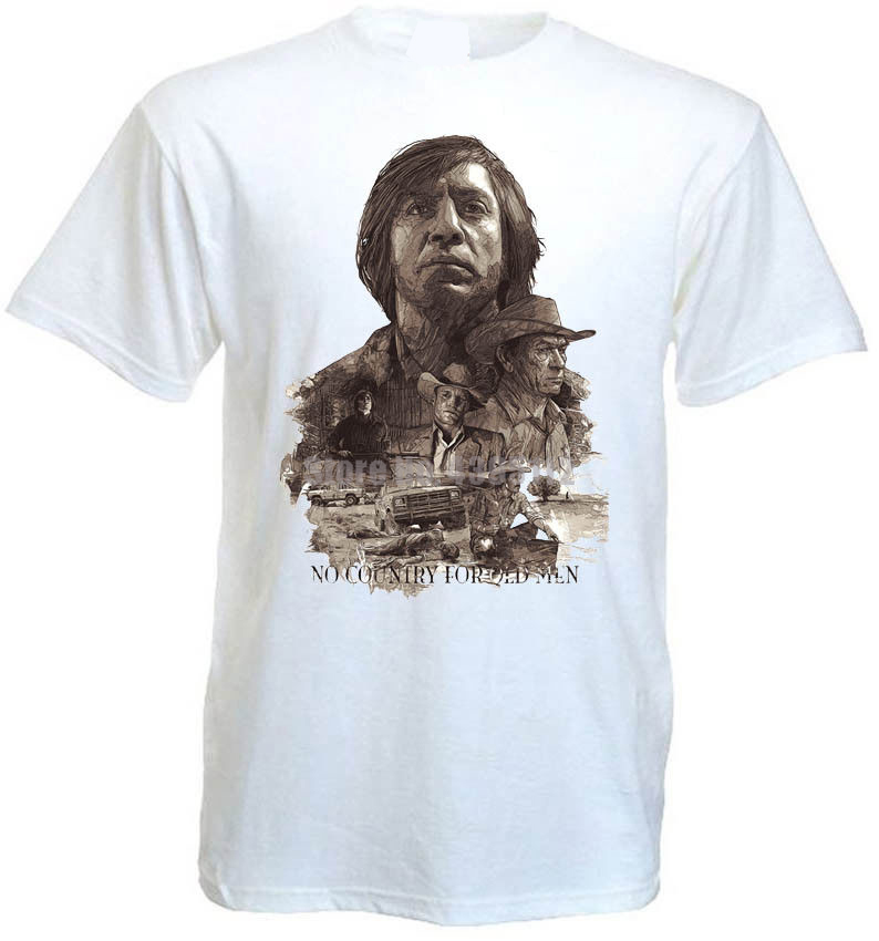 No Country For Old Women V6 T Shirt Movie Poster Coen Brothers All Sizes S-5Xl image