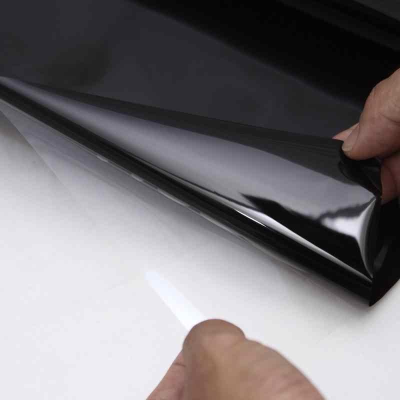 Filme de proteção para janela de carro, adesivo anti uv 20x150cm para carro, frontal, resistente a arranhões, acessórios para sombra, dropshipping