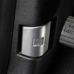 Image 5 - Auto Abs Zilver Motorkap Schakelaar Trim Decoratie Voor Ford F 150 2015 2020
