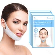 1 шт., маска для похудения лица, v образная линия, маска для лица, уменьшение двойного подбородок, шея, лифтинг, тонкий пояс, антицеллюлитная маска от морщин, маска для лица