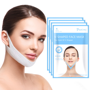 Image 1 - 1PCS Face Slimming mask Slimming V Line Face Mask Reduce Double Chin Neck Lift Thin Belt Anti Cellulite Wrinkle Face Mask
