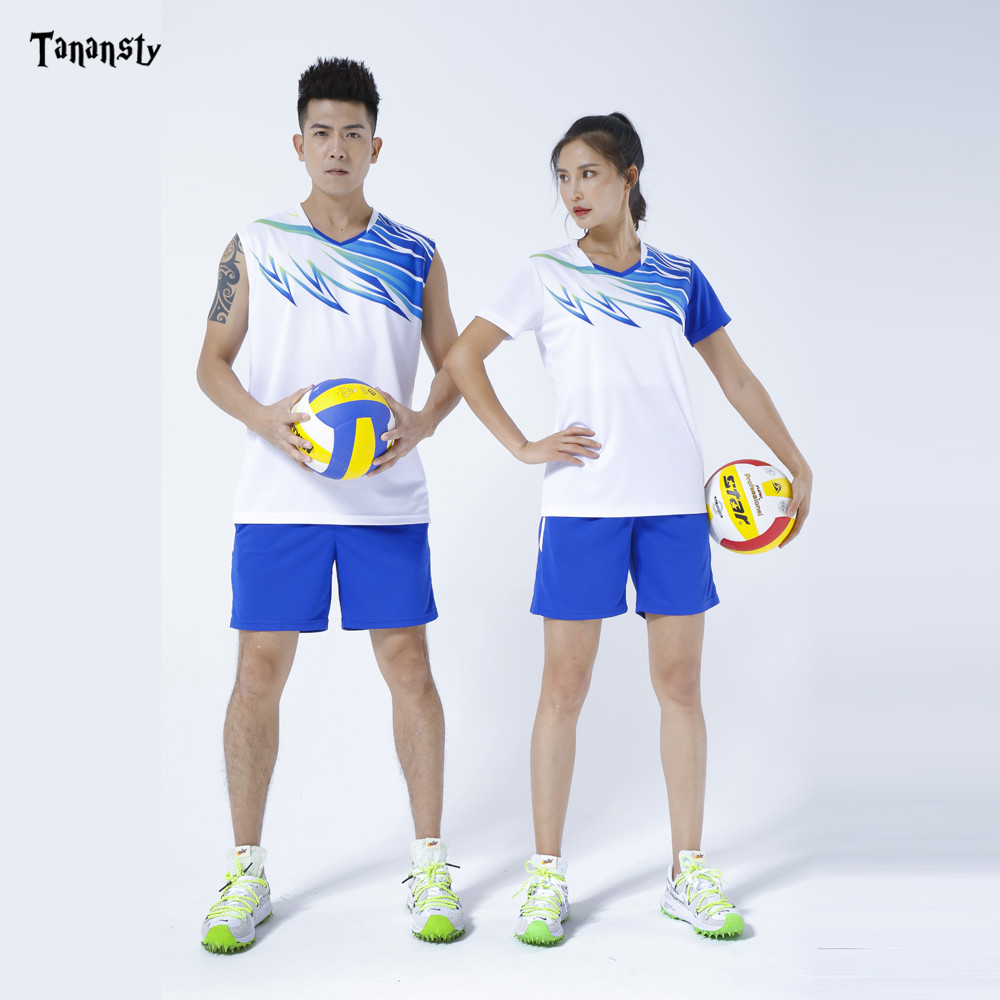2020 Volleyball Shirts Men Badminton Shirt Pingpong Sleeveless T Shirts Table Tennis Set Team Game Running Sport Fitness Gym