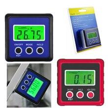 digital protractor angle meter ruler Level Gauge Magnetic Base plastic digital inclinometer magnet level Gauge Level Table Saw