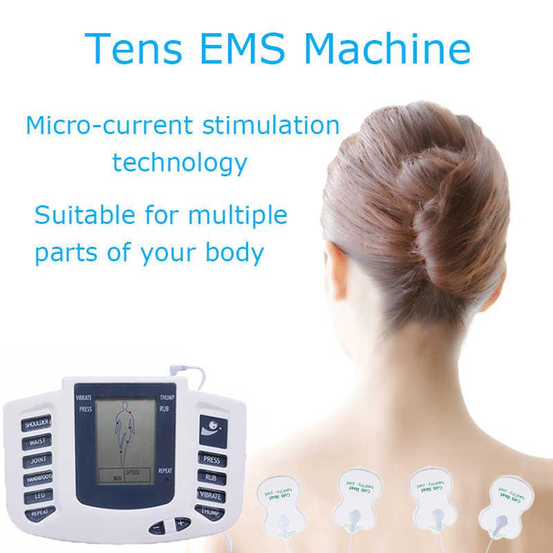 Tlinna Neue Gesunde Pflege Volle Körper Zehn Akupunktur Elektrische Therapie Massager Meridian Physiotherapie Massage Gerät Massager