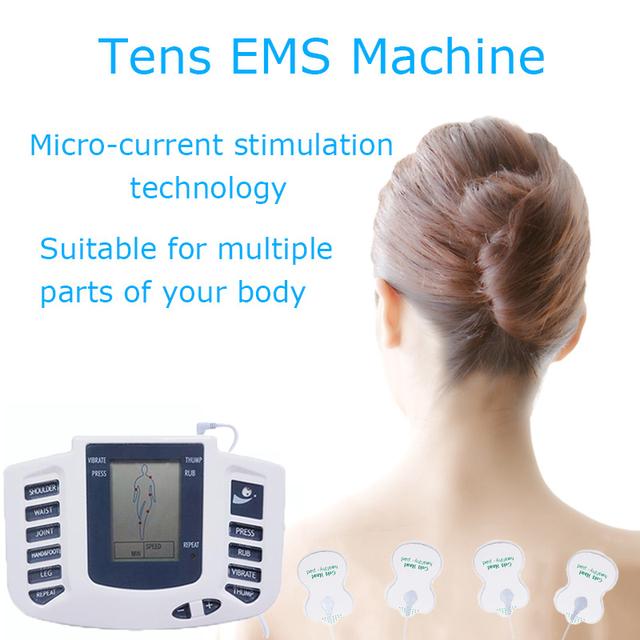 Tlinna  New Healthy Care Full Body Tens Acupuncture Electric Therapy Massager Meridian Physiotherapy Massager Apparatus Massager 1