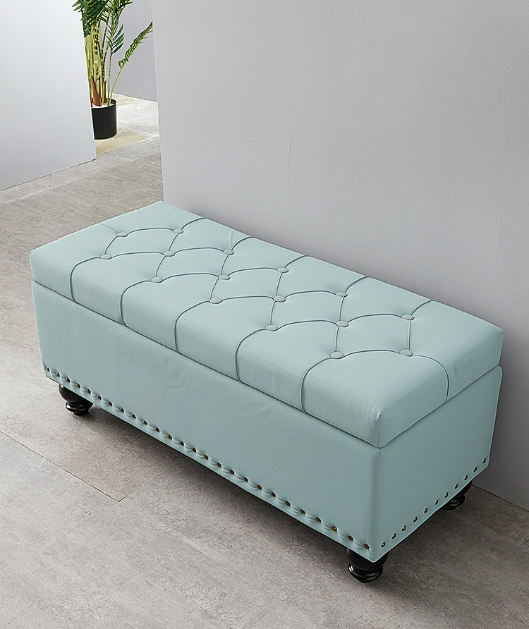 living room long sofa stool bed end footstool storage sofa door shoe stool fitting room ottoman storage stool