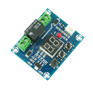 Image 2 - XH M214 12V Soil Humidity Sensor Controller Irrigation System Automatic Watering Module Digital Display Humidity Controller Red