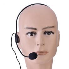 مصغرة المحمولة سماعة رأس مع ميكروفون Microfone 3.5 مللي متر جاك سلك ميكروفون ل مكبر الصوت العمود Mikrofon للمتكلم و الكمبيوتر