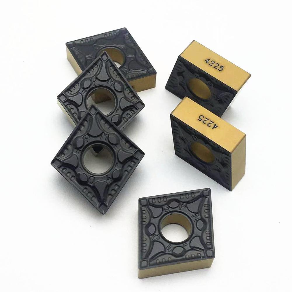 Купить с кэшбэком Lathe tool CNMG120408 CNMG120404 PM 4225 PM4225 external turning tool cermet grade carbide insert turning tool turning insert