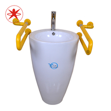 XIYANGZHUSHOU Safe Non-Slip Handrail Wash Basin Toilet Load 200KG Stainless Steel Old Man Child Disabled Auxiliary Tool