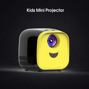 Image 3 - VIVI Bright L1 Newest Kids Mini Projector Full HD 1080P Mini Childrens Mini Early Education Projector Cartoon Story Gifts