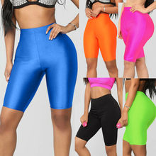 Mallas Deporte Mujer Fashion Womens Bike Yoga Elastic High Waist Shorts Leggings Sports Casual Pants Mayas Deportivas Mujer#15(China)