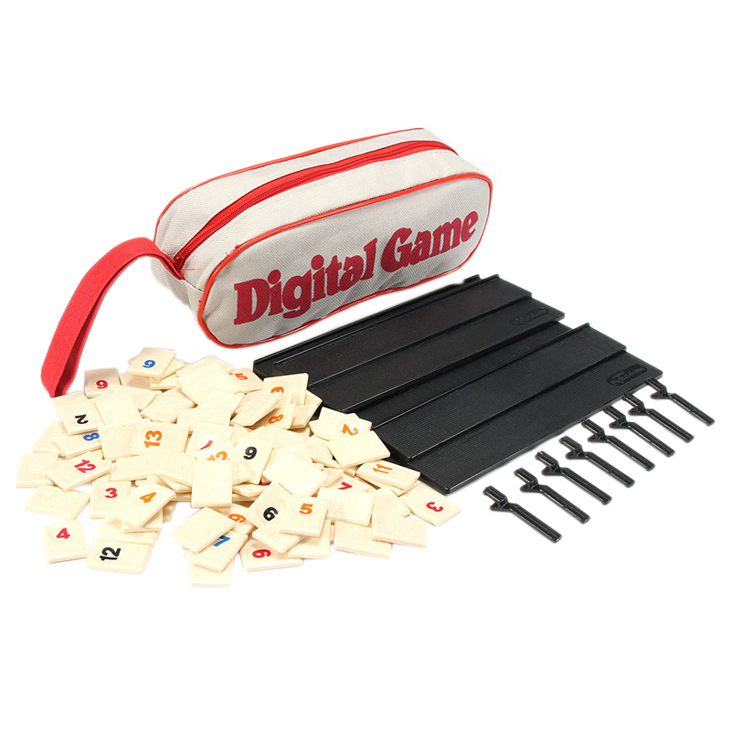 Digital Game Israel Mahjong Fast Moving Rummy Tile Family Game Travelling Version Classic Board Game