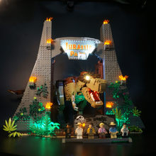 LED Light Kit Fit Lego 75936 Jurassiced Dinosaur Park Building Blocks for Light Up Blocks Toys (block Not Included)(China)