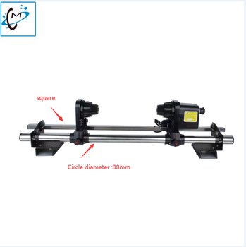 Powerful Printer automatic media take up reel system one motor for Epson Roland Allwin Human Xuli Mimaki Mutoh Paper Collector