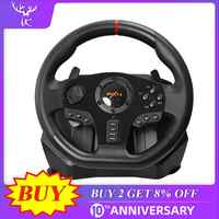 PXN V900 Gaming Steering Wheel 900° Degree Gamepad Controller Racing Video Game Vibration For PC/PS3/4/Xbox-One/Xbox 360/N-Switc