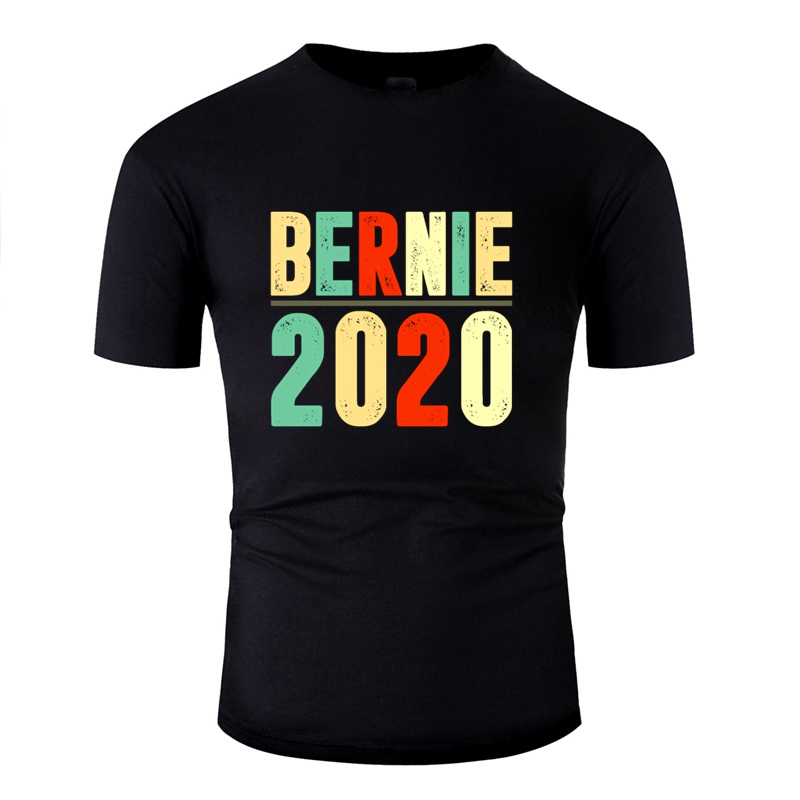 Newest Novelty Bernie Sanders 2020 Shirt Budget Tshirt For Men 100% Cotton O Neck T-Shirt Gents Oversize S-5xl Top Quality image