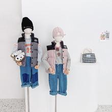 Dziecięca kamizelka puchowa nowa dziecięca kamizelka puchowa jesienno-zimowa kamizelka dziecięca tanie tanio COTTON CN (pochodzenie) Kurtki płaszcze Vest