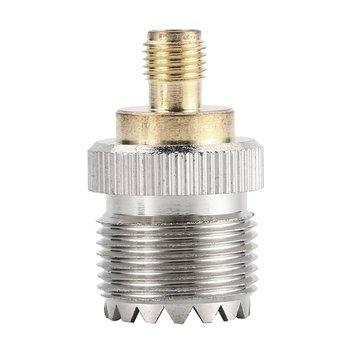 цена на RF Coax Adapter SMA female to SO239 female UHF Jack SO-239 Antenna Cable Connector