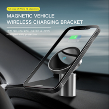 15W 자동차 마그네틱 충전기 공기 콘센트 휴대 전화 스탠드 홀더 무선 자동차 유도 충전기 마운트 아이폰 12 빠른 충전