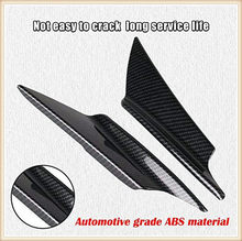 Car Body Bumper Wind Knife Carbon Fiber Spoiler for Renault Sand-up Ondelios Thalia Nepta Altica Z17 Vel Modus Egeus 20(China)