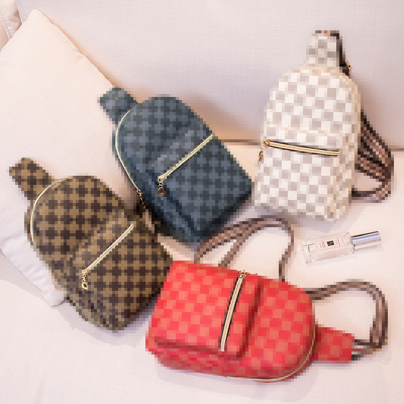 2020 NEW Women Bag Fashionable Chest Bag Small Trendy Single Shoulder Bag Inclined Ins Soft Style Phone Coin Storage Bag
