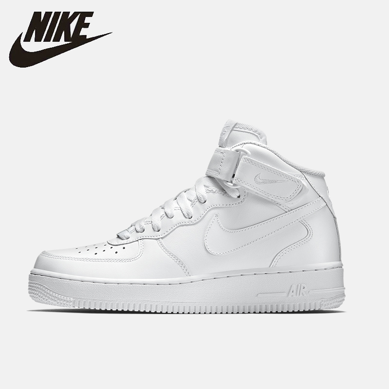 Nike Air Force 1 Mid'07 Af1 Men Skateboarding Shoes Casual Anti-Slippery  Comfortable Sneakers #315123
