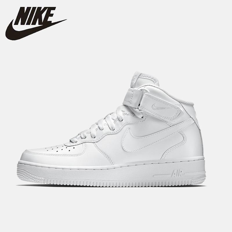 Nike Air Force 1 Mid'07 Af1 hombres zapatos de skateboard Casual antideslizante cómodo zapatillas #315123
