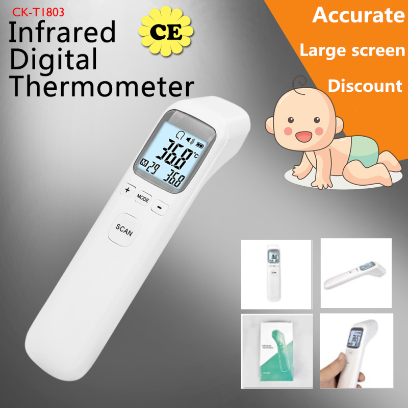 Medical Household Infrared Fever Thermometer Baby Adult Digital Termometr Non Contact Body/Object Temperature Measurement Device