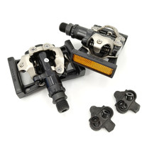 SPD M520 Bicycle Pedals MTB Mountain Bike Self Locking Pedal With SM SH51 Cleat Set & PD22 Bicycle Parts PD M520 for shi mano|Bicycle Pedal|Sports & Entertainment -