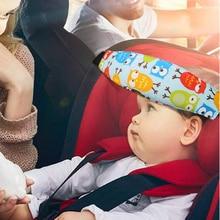 Pillows Playpens Car-Seat-Head-Support Positioner Sleep Infant Baby Children Adjustable