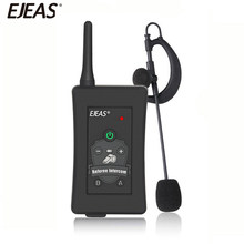 EJEAS FBIM 1200m 4 Riders casco de motocicleta Bluetooth Interphone auriculares manos libres Moto BT intercomunicador con radio FM(China)
