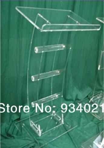 Kostenloser Versand Transparent acryl rednerpult Acryl Klassenzimmer Rednerpult Podium / Acryl Podium tabelle