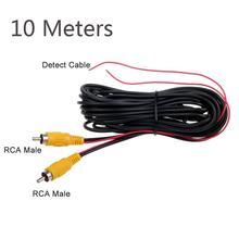 Автомобильная камера заднего вида кабель питания rca штекер