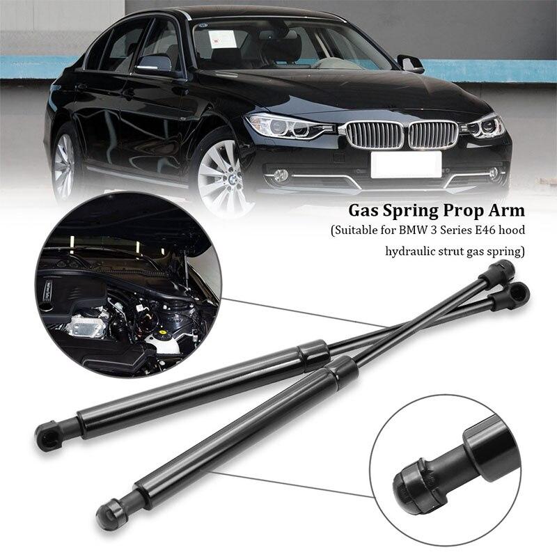 2 adet BMW E46 323Ci 323i 325i 328i 330Ci araba Bonnet Hood kaldırma destekleri çubuklar bahar amortisör gaz struts