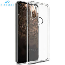 Funda de teléfono de silicona TPU suave transparente para Moto E5 Play E6 Plus G6 G7 G8 Power One Action Macro Power Pro Vision Zoom Z4(China)