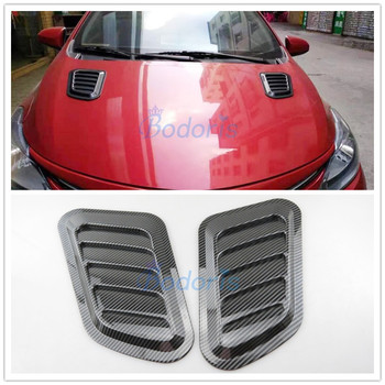 Accessories For BMW 2 5 series F45 X1 F48 X5 F15 X6 F16 X3 X4 Car Hood Air Vent Cover Door Bumper Guard Plate Car Styling image