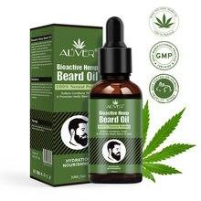 Aliver – huile de réparation de barbe de chanvre, huile organique naturelle, rehausseur de Moustache du visage, outil de soins de Nutrition, produits Anti-perte de cheveux