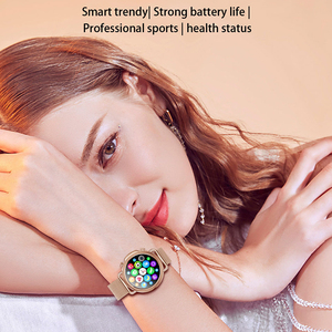 Image 2 - V25 Smart Watch Women Body Temperature Smart Bracelet IP67 Waterproof Blood Pressure VS GW33 V23 Smartwatch Andriod IOS Phone