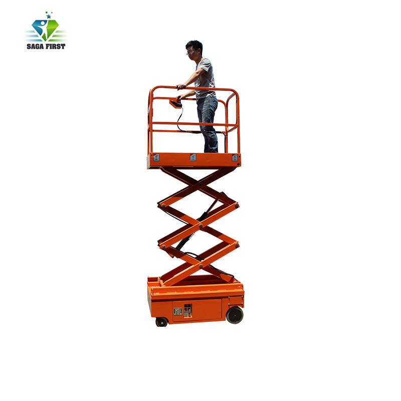Low Price Platform Lifting Small Self Propelled Scissor Lifter