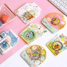 30 pack/lote Rilakkuma y Kawaii Sumikko guraf diario pegatinas de papelería decorativas Scrapbooking DIY álbum diario Stick etiqueta