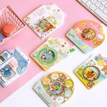 30 paket/los Rilakkuma Und Kawaii Sumikko Gurashi Journal Dekorative Schreibwaren Aufkleber Scrapbooking DIY Tagebuch Album Stick Label