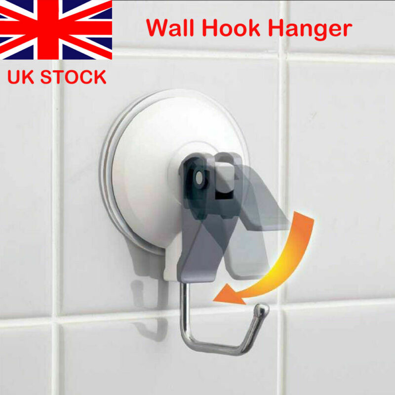 Super Strong Removable Vacuum Wall Hook Convenience Tool Wall Hooks Window Glass Suckers Suction Cups Strong Door Hanger